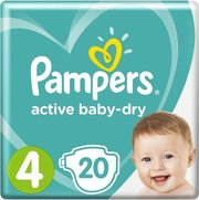 Pampers подгузники Active Baby 9-14 кг (20 шт) фото