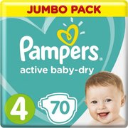 Pampers подгузники Active Baby 9-14 кг (70 шт) фото