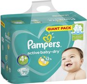 Pampers подгузники Active Baby-Dry 10-15 кг (70 шт) фото