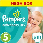 Pampers подгузники Active Baby-Dry 11-16 кг (110 шт) фото