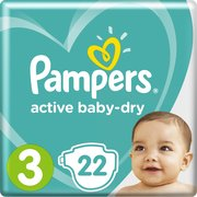 Pampers подгузники Active Baby-Dry 6-10 кг (22 шт) фото