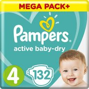 Pampers подгузники Active Baby-Dry 9-14 кг (132 шт) фото